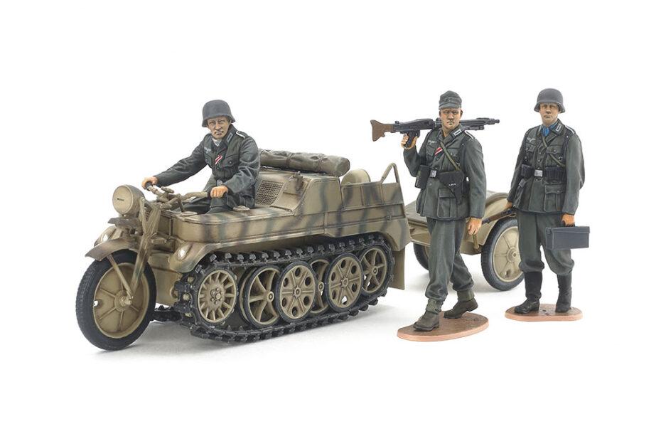 Tamiya 1/35 German Sd.Kfz.2 Kettenkraftrad (35377)