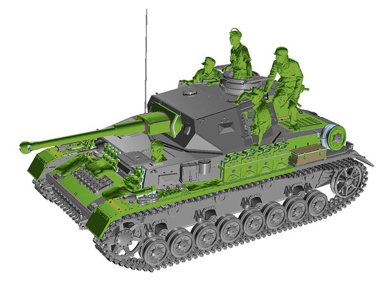 Tamiya 1/35 Немецкий танк Panzerkampfwagen IV Ausf. G (35378)