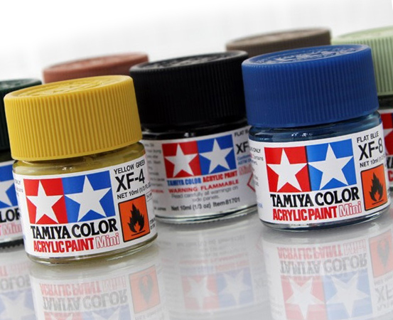 Tamiya Color Acrylic Paints Gloss/Flat (X/XF)