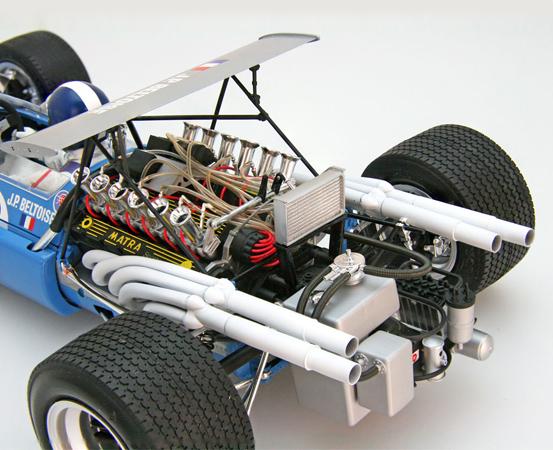 EBBRO 1/12 1968 MS11 British GP