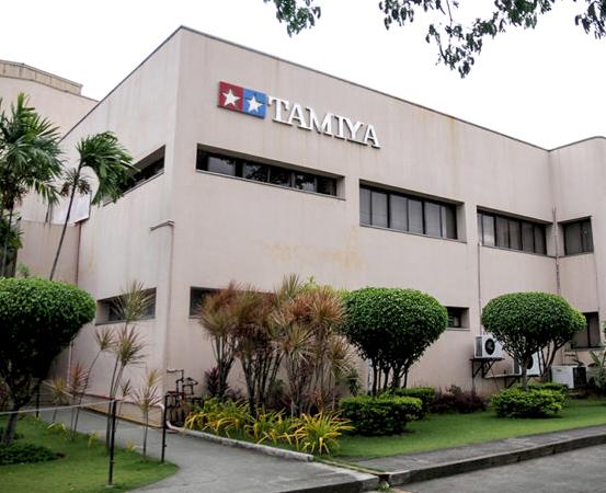 Производство Tamiya, г. Себу, Филиппины