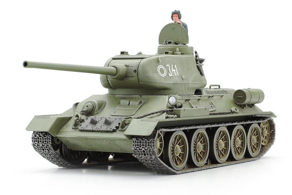 Tamiya 1/48 Советский танк Т-34-85 (32599)